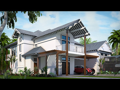 Texas Gulf Coast Beach Lot with House Plans and Permits- Ready to Build Now!!
