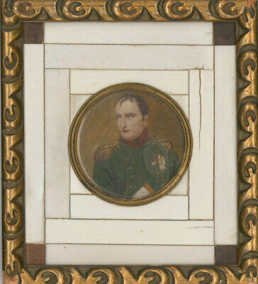 After Morel - Early 20th Century Miniature, Napoleon with Legion d'Honeur