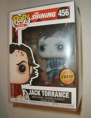 Funko Pop Movies Horror The Shining Frozen Jack Torrance Chase Variant  #456