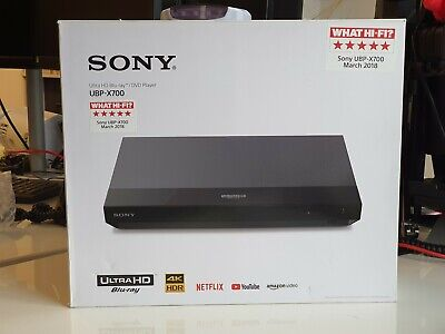SONY UBP-X700 4K UltraHD Blu-ray Player 4K Region Free Modded *PLEASE READ*