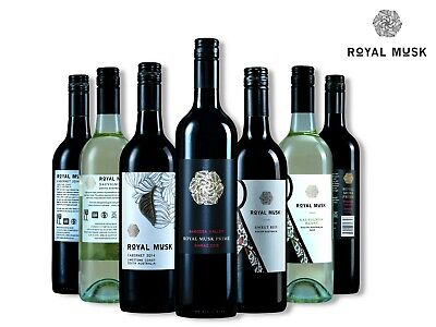 Royal Musk Wine Premium Red and White wine from South Australia (6*750ml)