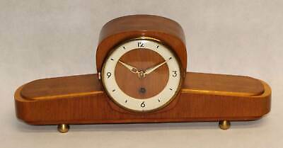Old Mantel Clock Table Floor Mechanical Timepiece GDR Time Noraton 1501-00