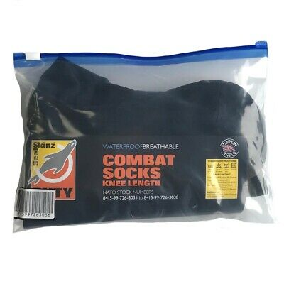 NEW - British Army Issue SEALSKINZ Waterproof Knee Length Socks - UK Size LARGE