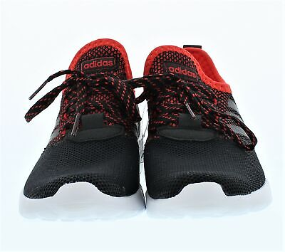 Adidas Lite Racer RBN K Black And Red Shoes Size 3