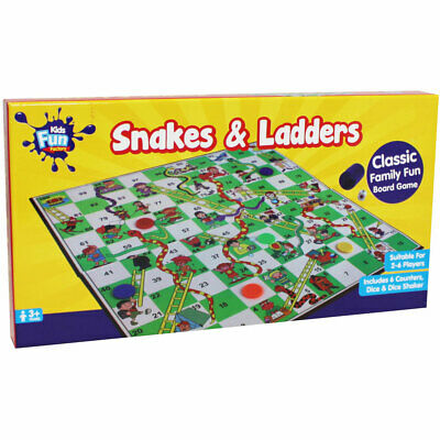 Snakes and Ladders Board Game, Toys & Games, Brand New