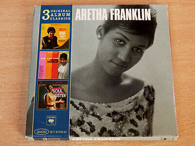 Aretha Franklin/Electrifying/The Tender The Moving/Soul Sister/2010 3x CD Album
