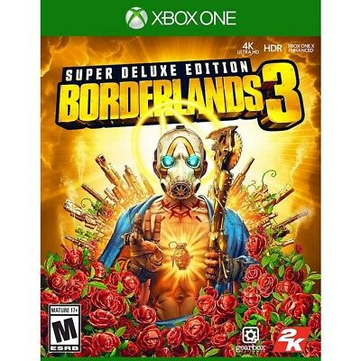 Borderlands 3 Super Deluxe Edition Xbox One Microsoft Brand New Factory Sealed