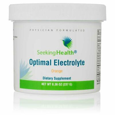 SEEKING HEALTH Optimal Electrolyte Powder 234g Orange FREE WORLDWIDE SHIPPING