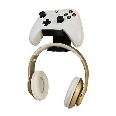 Microsoft Xbox One Controller and Headset Holder Wall Mount Stand 3D Printed