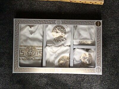 0-6 Months 7 Piece GiftSet Gucci Moschino LV MONCLER Versace Armani Burberry