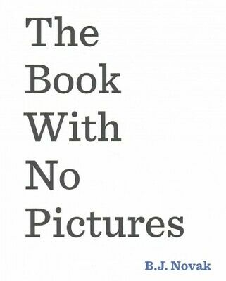 Book With No Pictures, Paperback by Novak, B. J., Brand New, Free P&P in the UK