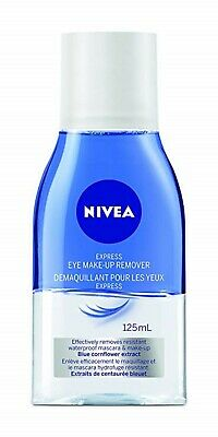 2 X Nivea Double Effect Eye Make Up Remover (125ml)