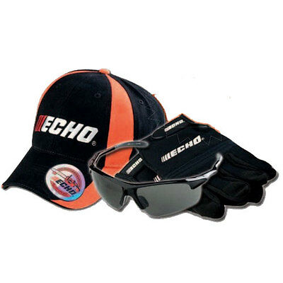 ECHO OEM Safety Value Pack Hearing Protection and Safety Glasses 99988801525