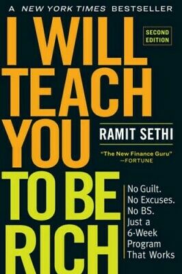I Will Teach You to Be Rich, Second Edition by Ramit Sethi  2019  (PDF)