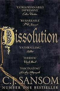 Dissolution, Paperback by Sansom, C. J., Brand New, Free P&P in the UK
