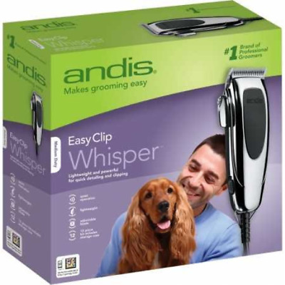 Andis Pet Clippers Dog Hair Trimmer Electric Shaver Groom Shears Animal Kit Fast