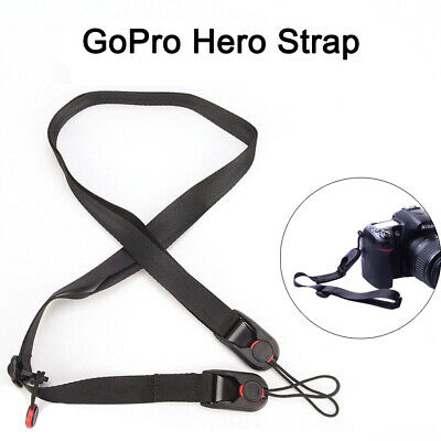 Quick Release DSLR Camera Cuff Wrist Belt &Leash Shoulder Strap Sling ABS Buckle