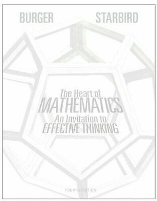 [P.D.F] The Heart of Mathematics An Invitation to Effective Thinking 4th Edition