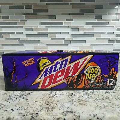 1x 12oz 12pk Mountain Dew Voodew in hand Voodoo Limited Edition Hard to Find