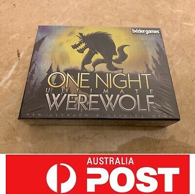 One Night Ultimate Werewolf Board Game, AU Stock