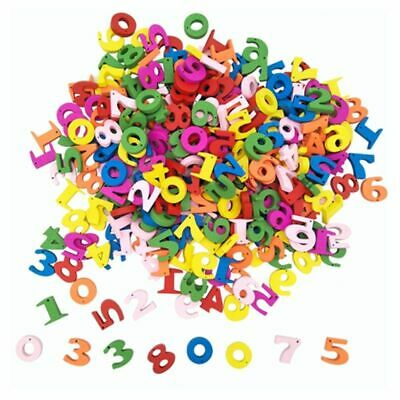 100Pcs Wooden Numbers Letters Math Toys Kids Montessori Materials Educational