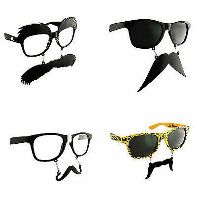 Moustache Glasses Fancy Dress Party Costume Novelty Mustache Accessory Funny