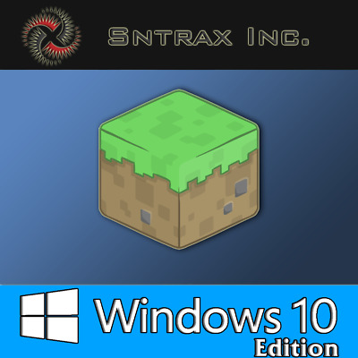 Minecraft Windows 10 Edition ( PC, CD KEY Only, No BOX, Activation Key Only )