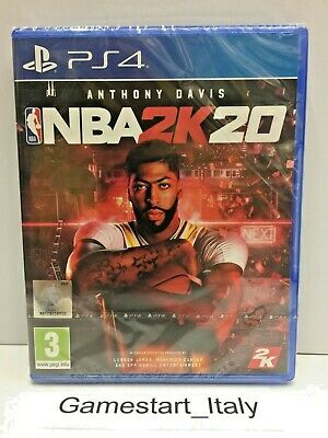 Nba 2K20 (Ps4) - Nuovo Sigillato  New Sealed - Pal - Region Free