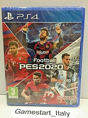 Efootball Pes 2020 - Sony Ps4 - Gioco Italiano Pal New Sealed - Nuovo Sigillato