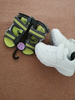 Baby Boys Summer Sandals And Trainers Bnwt UK 6 Marks And Spencers