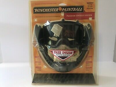 Vintage Winchester Paintball Mask Made in USA Scott Goggles New In Box