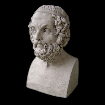 Sculpture Bust of Homer ancient Greek writer poet Replica Reproduction