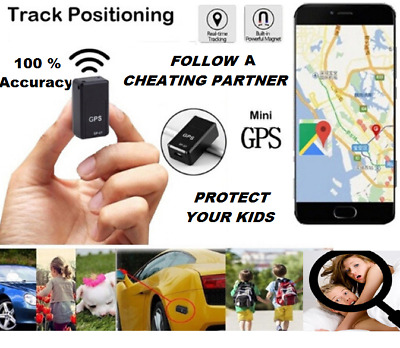 NEW PRO Mini Magnetic GPS Tracker Real-time Car Truck Vehicle CHEATER  GSM GPRS