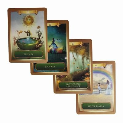 53 Cards Mysterious Energy Power Oracle Tarot Cards Deck English Board Game Gift
