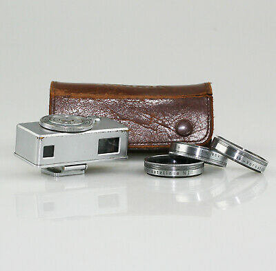 KODAK Rangefinder & Close-Up Set N-I, II, III for Retina Camera, Shoe Fit (AB44)