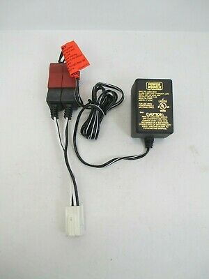 Fisher-Price Power Wheels 12V Volt Battery Charger AdapterC-12150 (00801-0973)