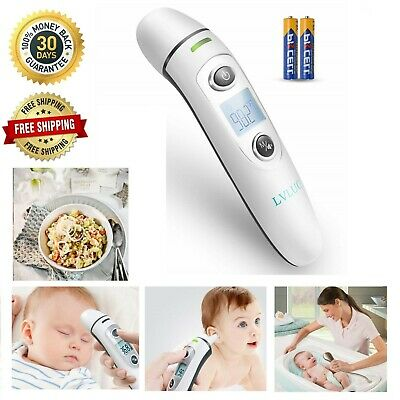 Digital Infrared Medical Thermometer Forehead and Ear Instant Accurate Baby Kids