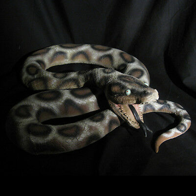 Giant Snake Boa Python Foam & Rubber 6 Foot Scary Haunted House Halloween Prop