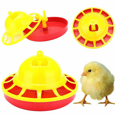 Chicken Drinking Automatic Fountain Brooder Drinkers Set Water Supply Poultry H1
