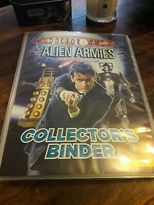 Doctor Who - Alien Armies - 260 Trading Cards Collectors Binder