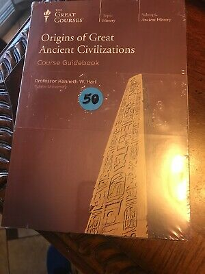 Teaching Co Great Courses  DVDs    ORIGINS OF GREAT ANCIENT CIVILIZATIONS    new
