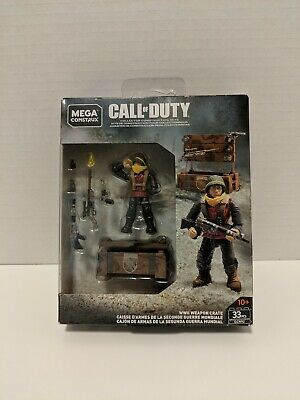GCN92-33 Pieces Mega Construx Call of Duty WWII WEAPON CRATE