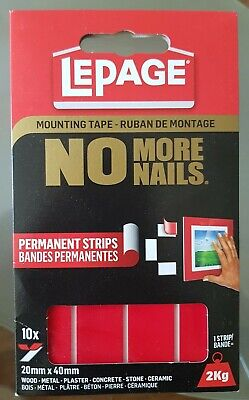 LePage Wall Mounting Tape No Nails