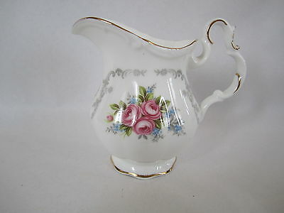 "Royal Albert English China Small Creamer 3 3/4 In High  ""Tranquillity"" Pre Own"