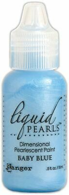 Ranger Liquid Pearls Dimensional Pearlescent Paint .5oz - Baby Blue