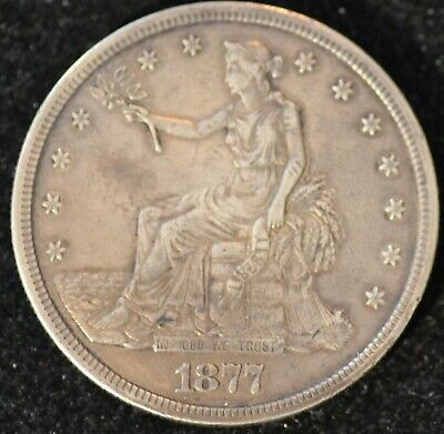 1877-S EXTREMELY FINE U.S. Trade Dollar