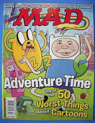 """MAD MAGAZINE #527 Jun 2014 NM Never on Newsstand /""""Combined Shipping to US/"""""""