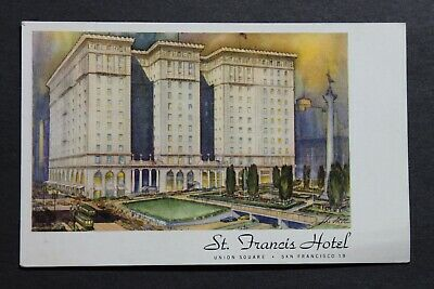 St Francis Hotel, San Francisco, Ca Rendering  Pc99