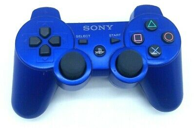 PS3 Official OEM Sony PlayStation 3 Controller Dualshock SIXAXIS CECHZC2U Blue