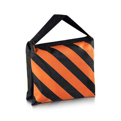 Neewer Black/Orange Heavy Duty Sand Bag Studio Video Light Stand Sandbag